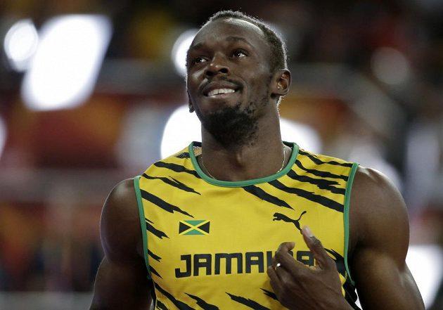 Jamajčan Usain Bolt měl s postupem do finále na stovce hodně práce.