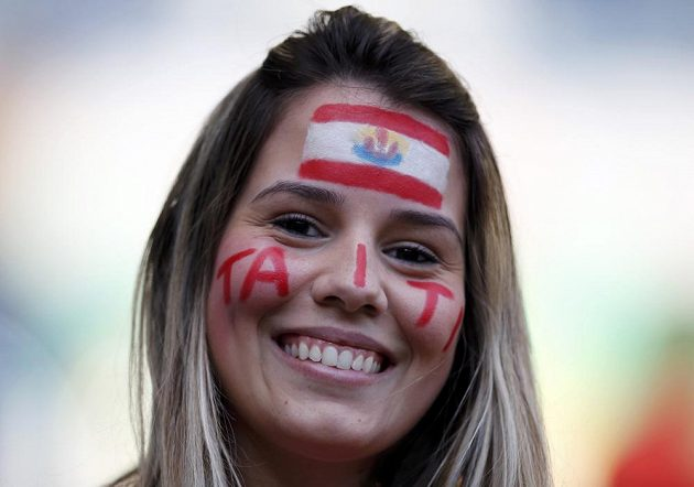 Fanynka fotbalistů Tahiti