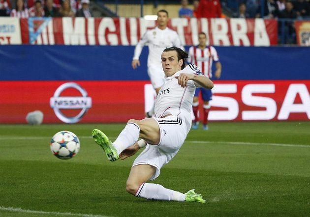 Gareth Bale z Realu Madrid v akci.