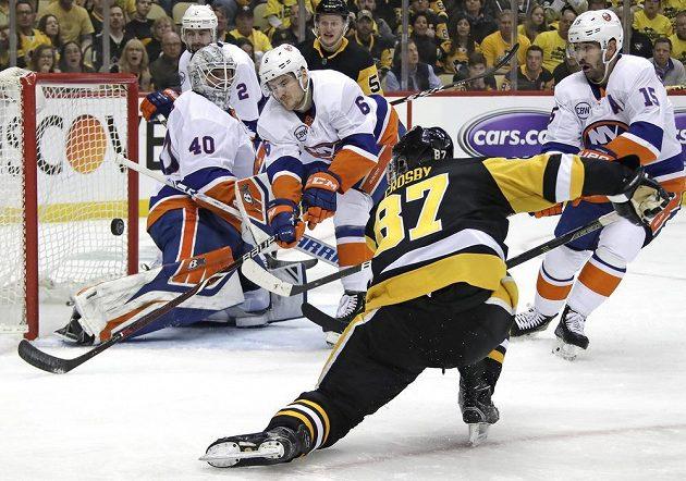 Ani Sidney Crosby vyřazení Pittsburghu nezabránil