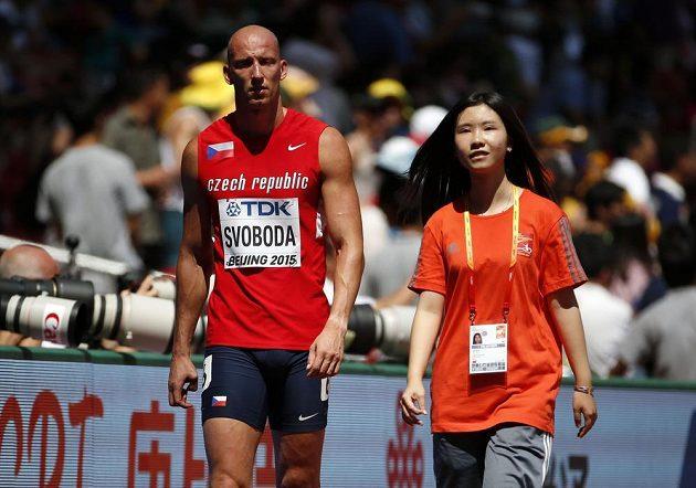 Zklamaný Petr Svoboda byl na MS byl diskvalifikován, následně však uspěl s protestem.