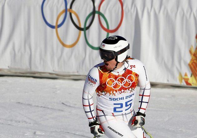 Český lyžař Ondřej Bank mohl být po dojezdu do cíle spokojený, v posledním třetím tréninku na sjezd pro páteční superkombinaci zajel nejrychlejší čas.