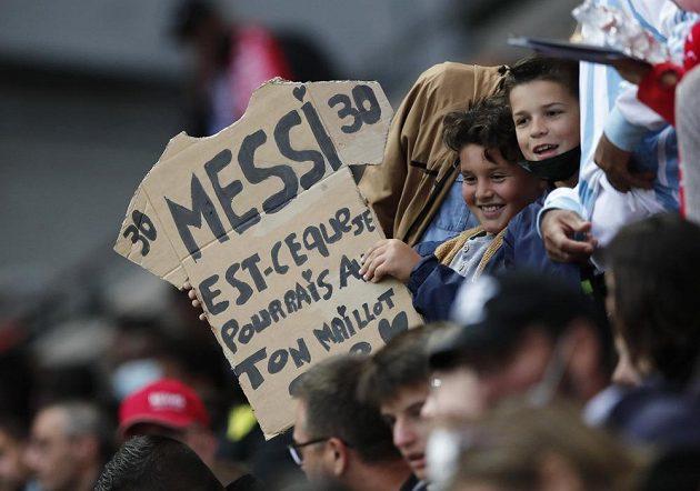 Fanoušci byli z příchodu Lionela Messiho nadšení
