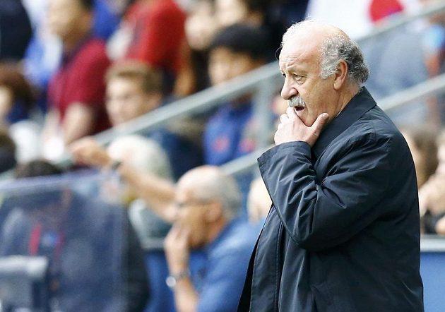 Trenér španělských fotbalistů Vicente del Bosque.