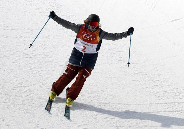Americká radost. Akrobatický lyžař David Wise obhájil na OH v Pchjongčchangu zlato v U-rampě ze Soči.