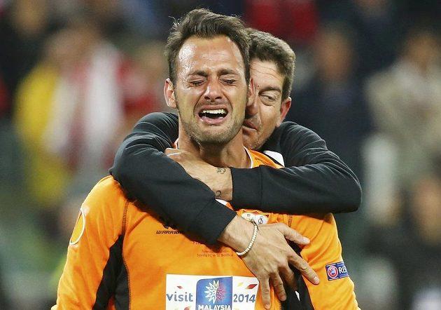 Je rozhodnuto! Jásat mohl i brankář FC Sevilla Beto.
