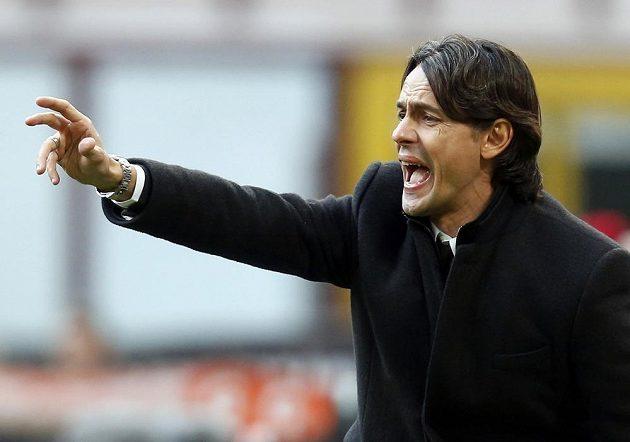 Trenér Filippo Inzaghi není s dosavadními výsledky svého AC Milán ani trochu spokojený.