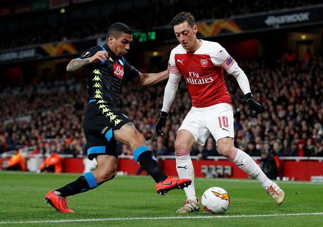 Arsenal zdolal Neapol a má blízko do semifinále Evropské ligy