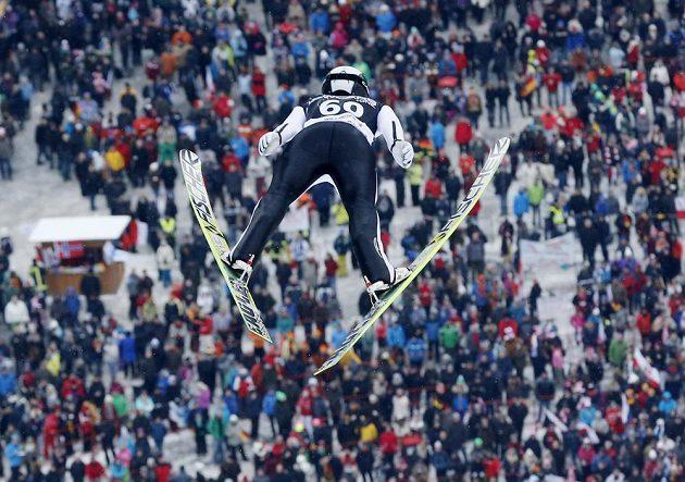 Český skokan na lyžích Roman Koudelka obsadil ve Willingenu třetí místo.