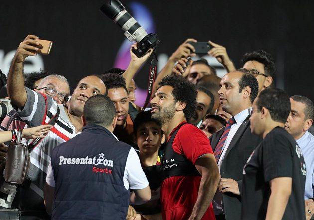 O tom, kdo je největší hvězdou egyptské fotbalové reprezentace, není třeba pochybovat - Mohamed Salah.