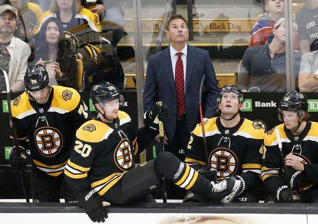 Kouč Bostonu Bruce Cassidy mohl být s výkonem svého týmu spokojen