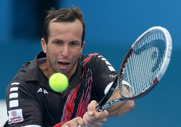 Do čtvrtfinále mužské dvouhry prošel v Sydney i Radek Štěpánek