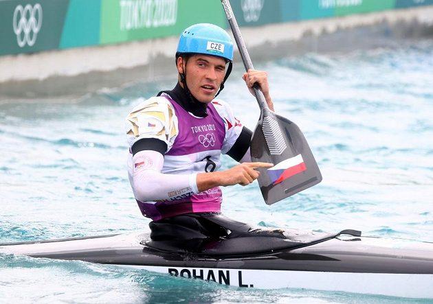 CKanoista Lukáš Rohan postoupil do finále olympijského závodu