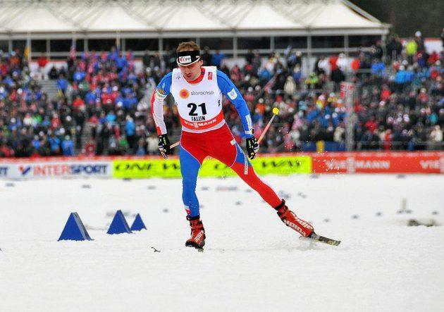 Lukáš Bauer obsadil sedmé místo v závodu na 15 kilometrů volnou technikou při MS ve Falunu.