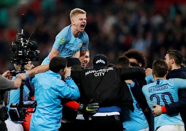 Šťastnějším týmem byli fotbalisté Manchesteru City