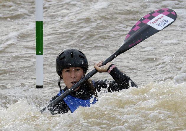 Vodní slalomářka Kateřina Kudějová na MS.