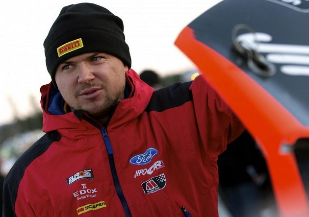 Martin Prokop během Švédské rallye.