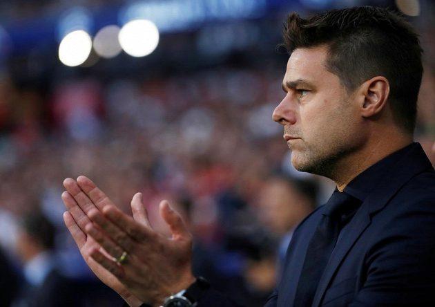 Manažer Tottenhamu Mauricio Pochettino během finále Ligy mistrů.