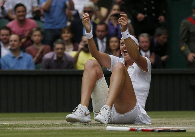 Petra Kvitová právě podruhé v kariéře vyhrála Wimbledon.