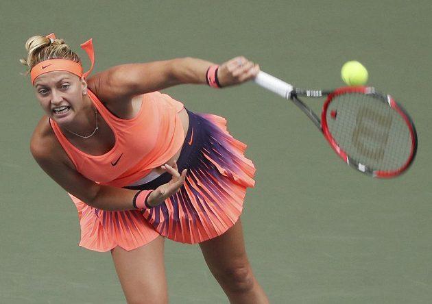 Petra Kvitová porazila na turnaji v Tokiu Portoričanku Mónicu Puigovou a zahraje si čtvrtfinále.