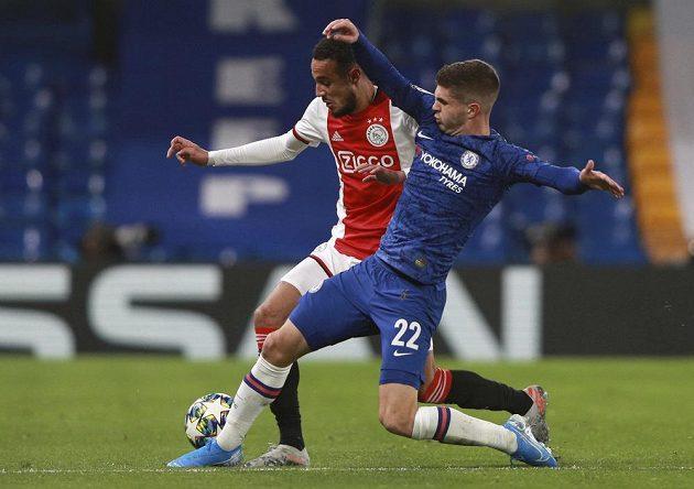 Fotbalisté Chelsea bojovali ve čtvrtém kole Ligy mistrů s Ajaxem