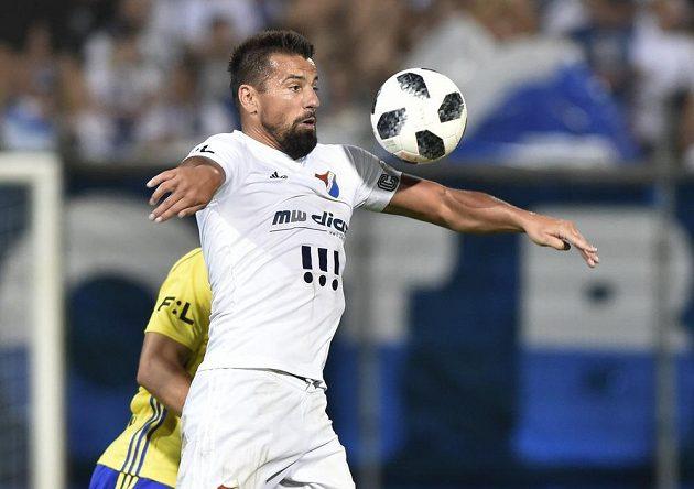 Milan Baroš z Baníku přispěl gólem k výhře svého týmu ve Zlíně.