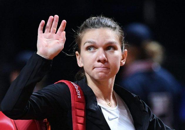 Světová jednička Simona Halepová se rozloučila s turnajem ve Stuttgartu již ve čtvrtfinále.