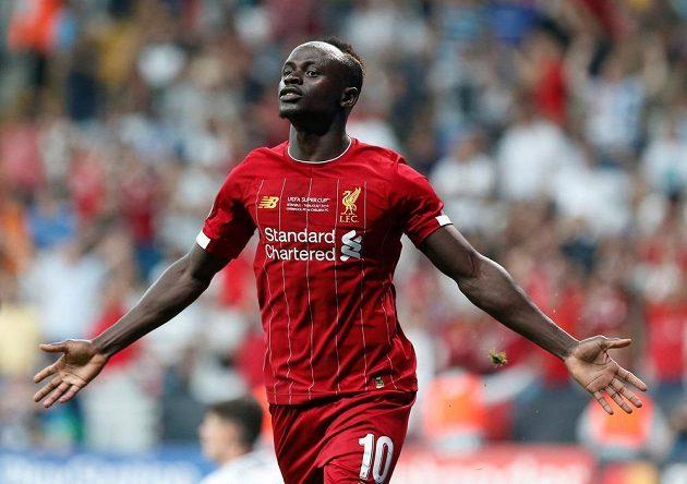 Liverpoolský Sadio Mané obstaral vyrovnání v boji o Superpohár.