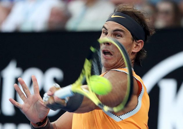 Rafael Nadal v semifinále na Australian Open.