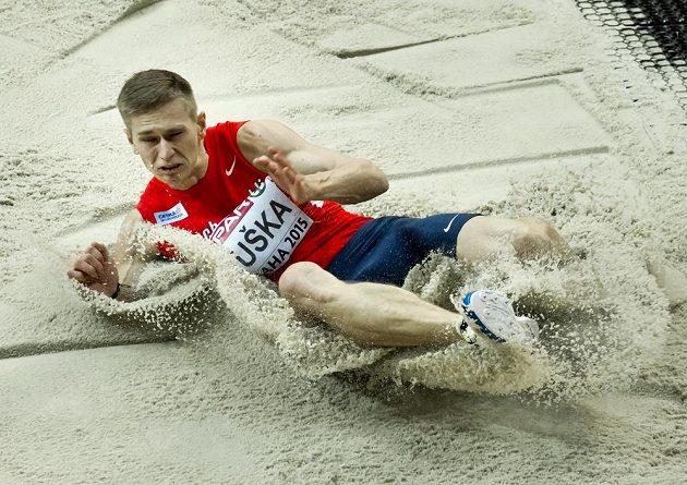 Český dálkař Radek Juška se na halovém mistrovství Evropy v Praze probojoval do pátečního finále.