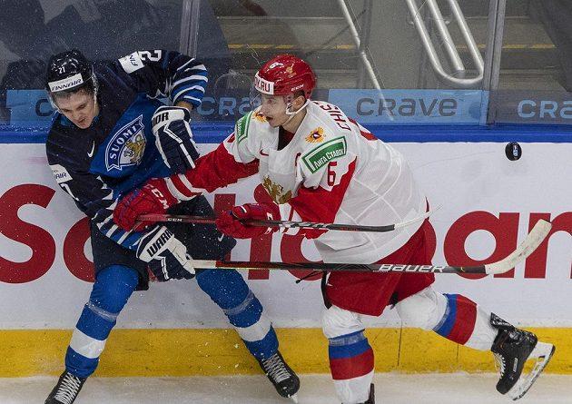 Boj o bronz, Rusko vs. Finsko na MS 20.
