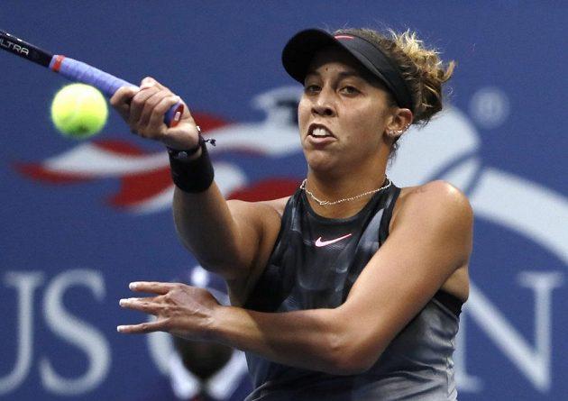 Madison Keysová ve finále US Open tahala za kratší konec.
