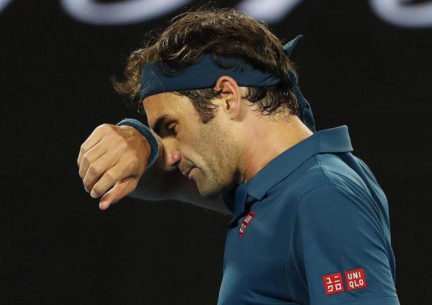 Roger Federer skončil na Australian Open v osmifinále