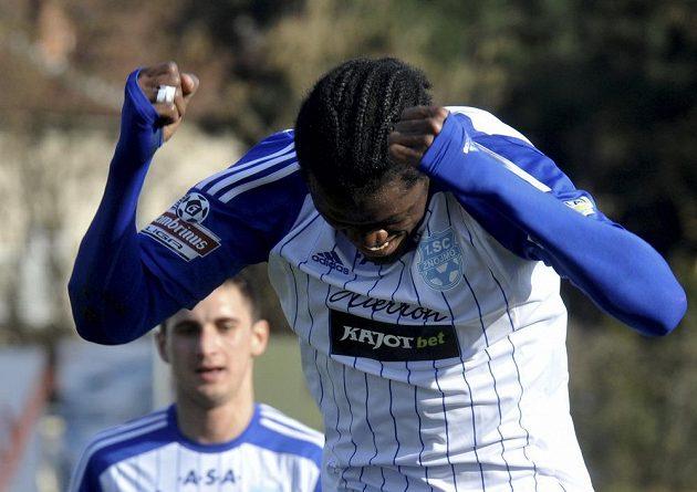 Střelec gólu Znojma proti Jablonci Lamine Diarrassouba.