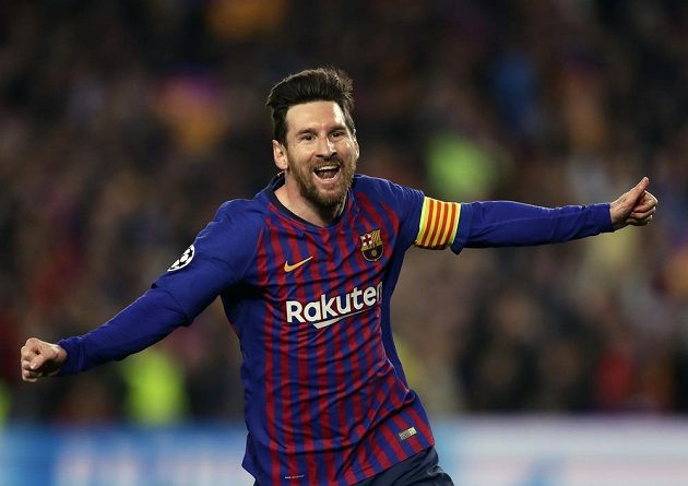 Lionel Messi se postaral o obě úvodní branky Barcelony