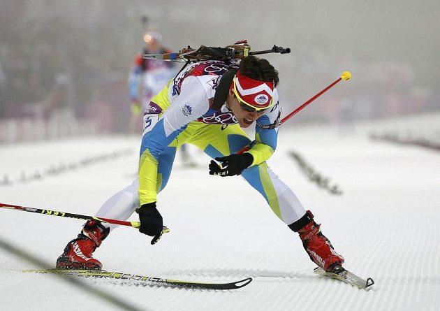 Slovinská biatlonistka Teja Gregorinová brala ve stíhačce na úkor české závodnice Gabriely Soukalové bronz.
