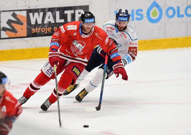 Zleva Petr Kolouch z Olomouce a Tomáš Filippi z Liberce.