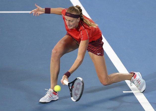 Petra Kvitová v souboji s Angelique Kerberovou