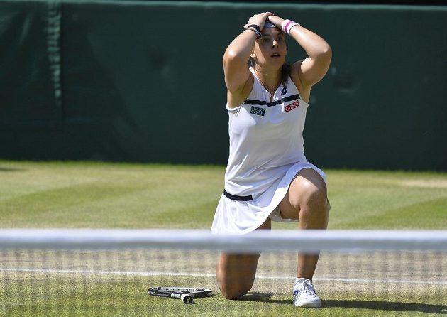 Marion Bartoliová vyhrála poprvé v životě tenisový grandslam, londýnský Wimbledon.