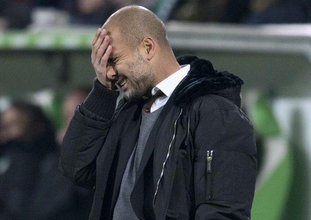 Pep Guardiola se chytal za hlavu, ale nakonec byl spokojen.