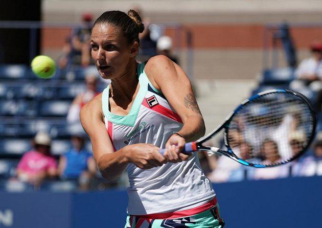 Karolína Plíšková postoupila na US Open již do čtvrtfinále.