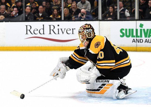 Tuukka Rask v brance Bostonu porážce svého týmu nezabránil