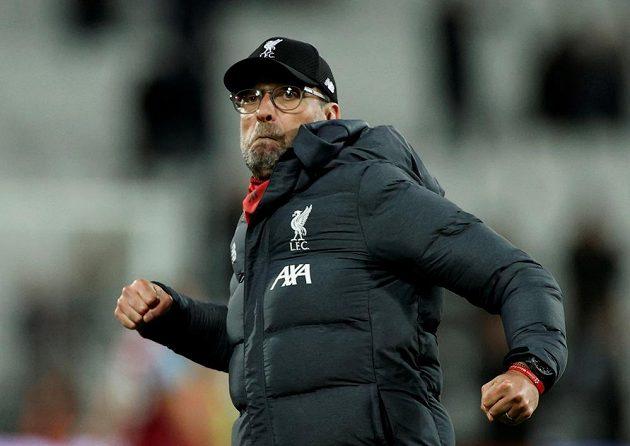 Svěřenci trenéra Jürgena Kloppa mají v čele tabulky náskok 19 bodů. Kouč byl po výhře na půdě west Hamu pořádně nadšený.