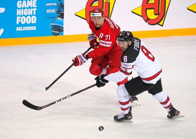 O semifinále MS bojovali hokejisté Kanady a Ruska