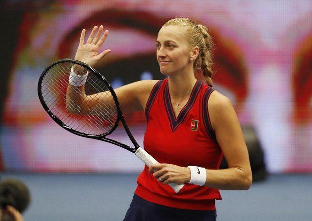 Petra Kvitová je v semifinále. Porazila Švýcarku Jil Teichmannovou.