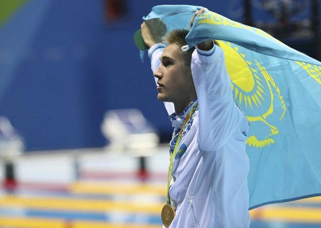 Kazachstán slaví první plaveckou medaili z OH.