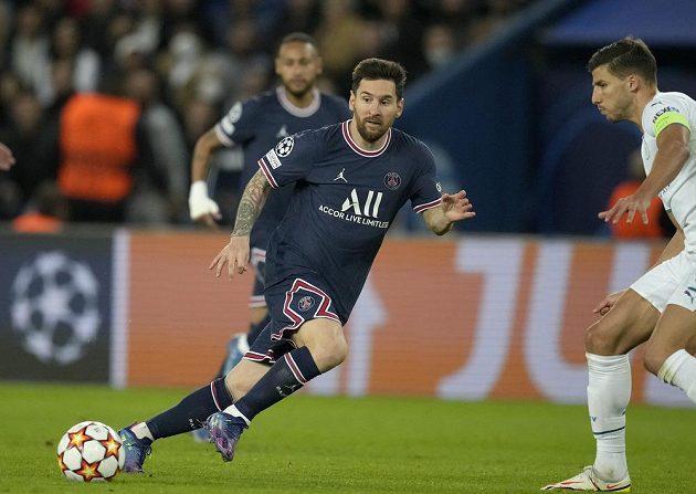 Lionel Messi se vrátil po zranění do sestavy PSG a jedním gólem pomohl zdolat v Lize mistrů Manchester City.
