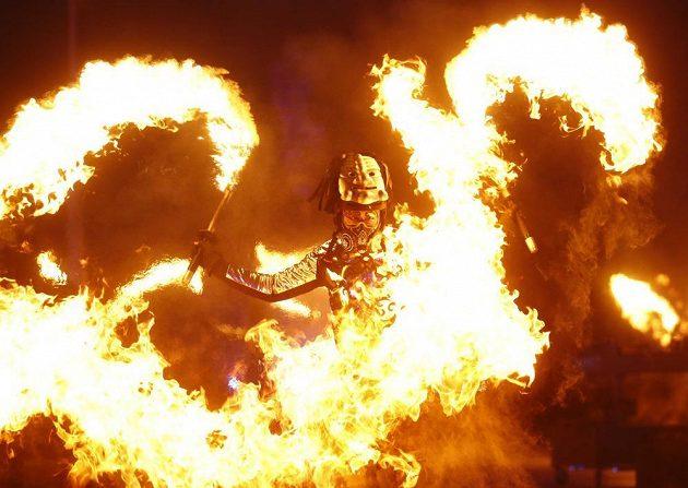 Show provázela slavnostní zahájení olympijských her v Jižní Koreji.