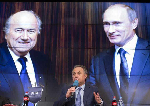 Vitalij Mutko, ruský ministr sportu na snímku z dubna tohoto roku.
