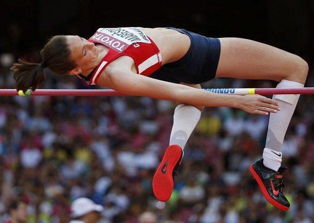 Výškařka Oldřiška Marešová skočila v Pekingu 189 cm, což na postup nestačilo.